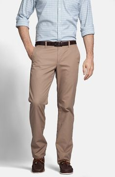 Bonobos Straight Leg Washed Cotton Twill Chinos in stone available at #Nordstrom  $88