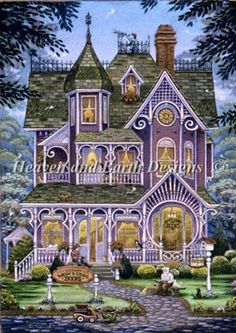 Village Bookstore - Cross Stitch Pattern