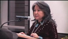 She Says: A Poem by Navajo Poet Laureate Luci Tapahonso  [Editors Note: Luci Tapahonso was recently named by Navajo Technical College as the first-ever poet laureate of the Navajo Nation. One of 11 children, Tapahonso grew up in Shiprock, New Mexico, and has authored several books of poetry and other writings. Below is a poem from one of her collections.