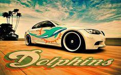 Miami Dolphin's Car