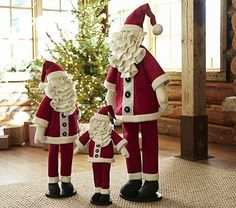 Santa Hearth Plush Decor #pbkids