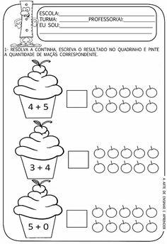 atividades pré escolar 4 anos de contagem - Pesquisa Google