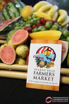 """Frutas de Puerto Rico Farmers Market, """"El más Completo y Variado Mercado Agrícola at American Military Academy, Guaynabo 2012"""