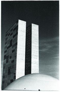 Oscar Niemeyer  Brasilia. Congresso