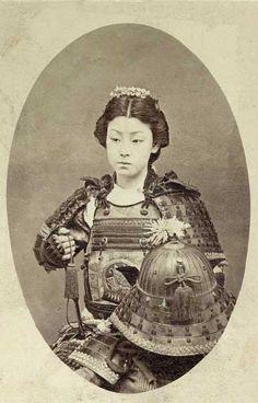 woman samurai [end of 1800]