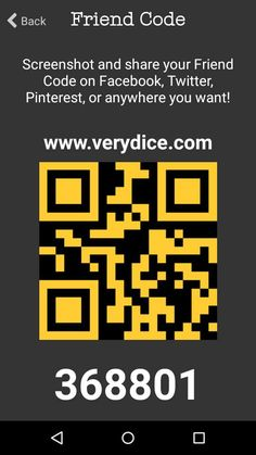 Use my Friend Code on VeryDice to get 30 free rolls on me! Earn tickets to trade in for diapers, wipes, furniture, toys and many more!