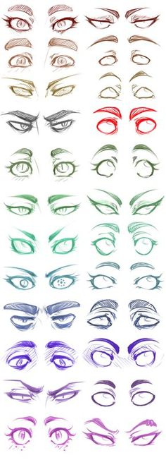 Eye Drawing Tutorial Manga Character Design References 36 Ideas For 2019 Eye Drawing Tutorials, Drawing Techniques, Drawing Tips, Drawing Ideas, Sketch Drawing, Eye Sketch, Drawing Pictures, Lips Sketch, Sketch Ideas