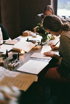 Tea + Calligraphy at Bellocq Photos by @Jeanette Polynice  |  To Love Photographie