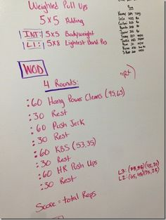 WOD from CrossFit 781