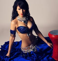 Ameera in Blue Bella