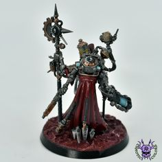 Adeptus Mechanicus: Tech-Priest Dominus #ChaoticColors #commissionpainting #paintingcommission #painting #miniatures #paintingminiatures #wargaming #Miniaturepainting #Tabletopgames #Wargaming #Scalemodel #Miniatures #art #creative #photooftheday #hobby #paintingwarhammer #Warhammerpainting #warhammer #wh #gamesworkshop #gw #Warhammer40k #Warhammer40000 #Wh40k #40K #Adeptusmechanicus #Mechanicus #Admech #Adeptusmechanicus #Mechanicum #TechPriestDominus Warhammer 40000, Tabletop Games, Gw, Priest, Miniatures, Tech, Fantasy, Creative, Painting