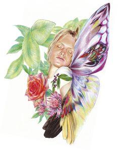 Minni Havas, Pt. 3   Iconology Vibrant Colors, Colours, Gender Bender, Coloured Pencils, Art Series, Human Nature, Illustrators, Sculpture, Fashion Illustrations