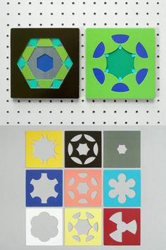 Infinite patterns / kaleidograph = large scale somewhere?