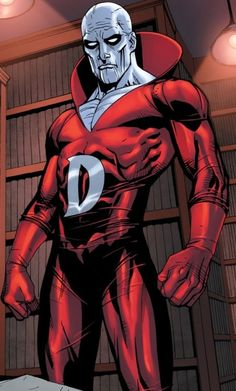 "Deadman (Boston Brand) (Ghost) (U.S.A.) Wanderer; former circus trapeze artist, aerialist. Ghostly Physiology. Intangibility. Invisibility. Spiritual Possession. Supernatural Knowledge. Peak level athlete, acrobat. 6' 0"" tall."