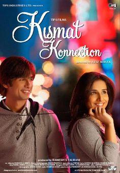 KISMAT KONNECTION(2008) Raj okul hayatında hep başarıyı yakalamış biridir.Ancak mezun olup,mimar olduktan sonra şanssızlıklar peşine bırakmaz ve istediği bir kariyeri bir türlü yakalayamaz.Tam bu sırada Priya ile karşılaşır.Priya artık onun uğurudur.Bairollerde Shahid Kapoor ve Vidya Balan. İmdb puanı:5,2