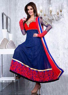 New Fashion Designer Anarkali Suits For Women 2015-2016 | Anarkali Frocks…