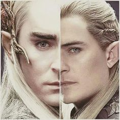 When I first saw Thranduil, I literally thought that it was an older Legolas. Well.....I was wrong in one department of Elven knowledge.
