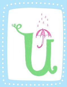 U is for Umbrella