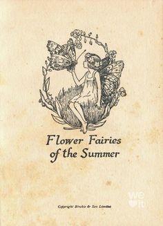 Vintage Fairies, Vintage Art, Vintage Kids, Vintage Paintings, Vintage Drawing, Vintage Love, Fairy Dust, Fairy Tales, Lila Tattoo