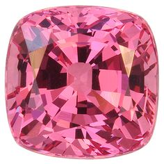 Purplish red Spinel cushion weighing 3.16 cts from Tanzania.