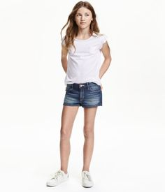 Jeansshorts | Dunkelblau | Kinder | H&M DE