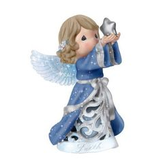 precious moments figurine with background | See the small card with the code on it? The seller printed that out ...