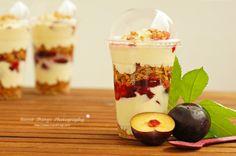 Pflaumen-Mascarpone Dessert