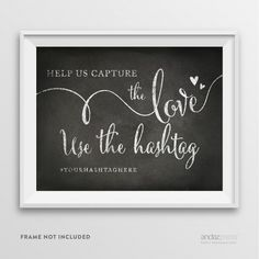 Andaz Press Wedding Party Signs, Vintage Chalkboard Print, 8.5-inch x 11-inch, Hashtag [AP10374-AP10376] : Wholesale Wedding Supplies, Discount Wedding Favors, Party Favors, and Bulk Event Supplies