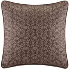 "Madison Park Metropolitan Home Eclipse 18"" Square Jacquard Decorative Pillow  found at @JCPenney"