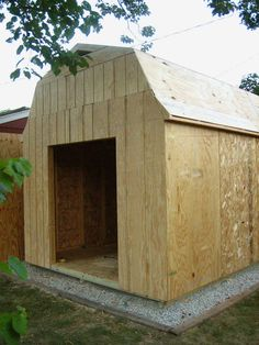 Shed plans that are easy to use, very affordable, and fun to build with. All plans come ... It has lots of charm and character with it's desirable design. 12x8 saltbox ...