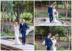 Bride and Groom Portrait | Araluen Golf Resort Wedding | Trish Woodford Photography