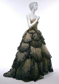 1950's fashion | 1950's Dior dress | Fashion- Dresses