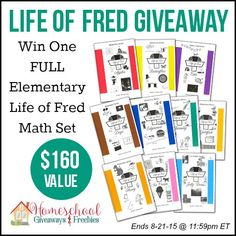 Life of Fred Elementary Math Set
