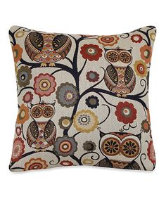 Love this Sedona Wise Owl Throw Pillow by Brentwood Originals on #zulily, $15 !!  #zulilyfinds