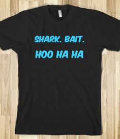 shark bait hoo ha ha – Clever Clothes – Skreened T-shirts, Organic Shirts, Hoodies, Kids Tees, Baby One-Pieces and Tote Bags Source by Vinyl Shirts, Funny Shirts, Shark Bait, Vacation Shirts, Disney Shirts, Geek Chic, Club, Graphic Tees, Cute Outfits