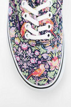Urban Outfitters - Vans X Liberty London Authentic Bird Print Women's Sneaker