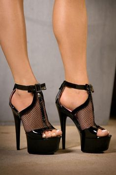 Pin by Hot High Heels on Black high heels in 2019 High Heels Boots, Platform High Heels, Black High Heels, Lace Up Heels, Sexy Heels, High Heels Stilettos, Stiletto Heels, Black Shoes, Ankle Boots