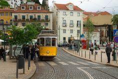 Cómo son los Tranvías en Lisboa - http://www.absolutportugal.com/como-son-los-tranvias-en-lisboa/