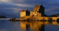 Eilean Donan Castle - Island Castle in Scotland