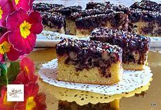 Meggyes-diós kevert sütemény Poppy Cake, Guacamole, Tiramisu, Cheesecake, Sweets, Ethnic Recipes, Dios, Gummi Candy, Cheesecakes
