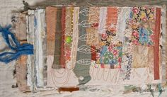 Dj Pettitt handmade book #mixed_media  #fabric_journal