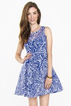 Dizzy Ocean Dress