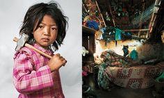 Série fotográfica mostra onde dormem algumas crianças ao redor do mundo
