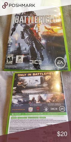 Preowned Xbox 360 Battlefield 4 Game Great condition too Xbox 360 Other