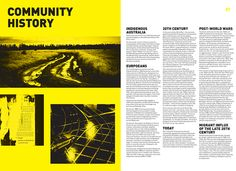 Community Report 'Footscray' (student brief)