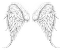 drawn angel wings - Google Search