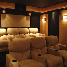 small theater room ideas - Google Search