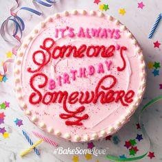 I love cake Cupcakes, Cake Cookies, Cupcake Cakes, Pretty Cakes, Beautiful Cakes, Amazing Cakes, Bbq Dessert, Bolo Cake, Funny Cake