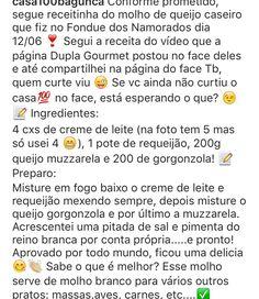 Molho de queijo caseiro para foundue   Instagram @casasembagunca