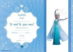 Invitații petreceri copii - BluParty Itachi, Elsa, Happy Birthday, Activities, Movies, Movie Posters, Drum, Frozen, Logo